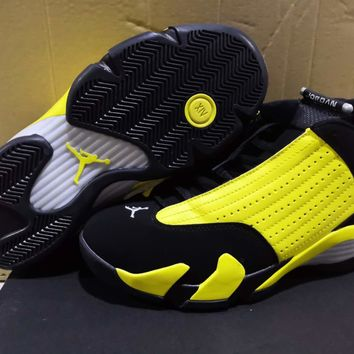 Air Jordan 14 Retro Yellow/Black