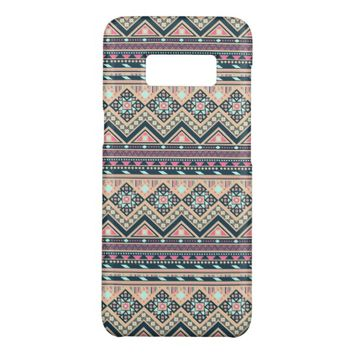 Colorful Abstract Aztec Tribal Pattern Case-Mate Samsung Galaxy S8 Case
