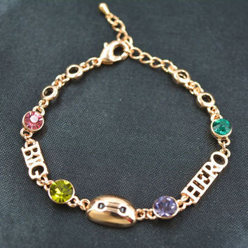 Awesome Hot Sale New Arrival Shiny Great Deal Gift Korean Stylish Crystal Luxury Accessory Simple Design Environmental Bracelet [10417739924]