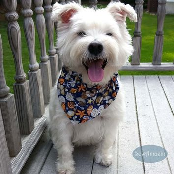 Seashore Treasures Beach Dog Bandana