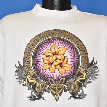 90s Robert Plant Manic Nirvana Tour Long Sleeve t-shirt Extra Large