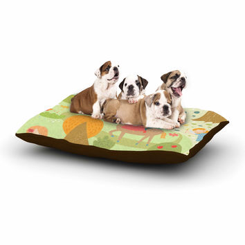 """Petit Griffin """"Fairy Tale"""" Fantasy Illustration Dog Bed"""