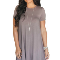 Made You Look Tie Back Shift Dress- 2 Colors