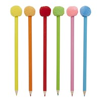 Pom Pom Colored Pencil Set