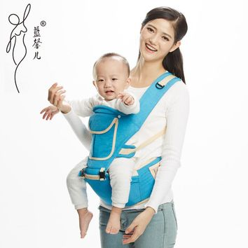 3-36 M Soft Breathable Polyester Multifunctional Load 20Kg Back Front Facing Baby Carrier Adjustable Detachable Newborn Sling