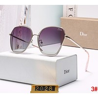 """DIOR"" Popular Women Fashionable Personality Sun Shades Eyeglasses Glasses Sunglasses 3#"