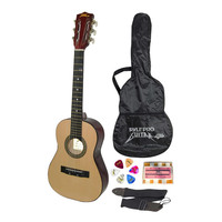Pyle 30'' Inch Beginner Jamer, Acoustic Guitar with Carrying Case and Accessories