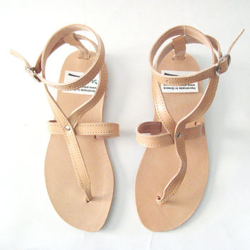 Leather Sandals! Genuine Leather handmade sandals! Womens sandals! Sandals for woman!