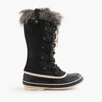 Women's Sorel For J.Crew Joan Of Arctic Boots In Black