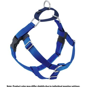 Freedom No Pull Harness - Royal Blue & Navy