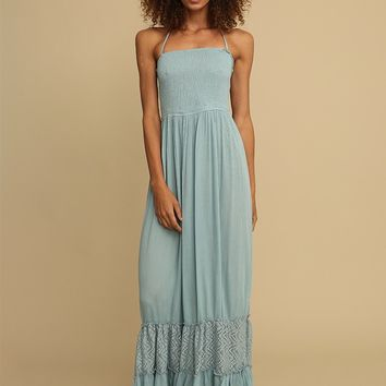 Clear Waters Maxi Dress | Threadsence