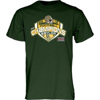 Baylor Bears 2013 Big 12 Football Champions Conference Champs T-Shirt - Green