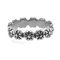 Flower Child Sterling Silver Ring on Sale for $12.95 at HippieShop.com