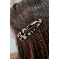 Picture Perfect Hair Clip - Light Tortoise