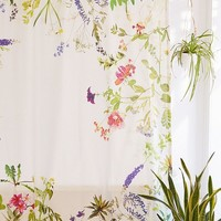 Wildflowers Shower Curtain | Urban Outfitters