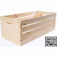 Crates and Pallet X-Large Wood Crate - Walmart.com
