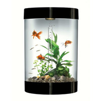 biUbe Black Aquarium Kit with Light