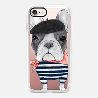 French Bulldog (transparent) iPhone 7 Case by Barruf | Casetify