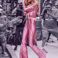 Rockin Rock Out - 2 Piece Shimmer Pink Suit