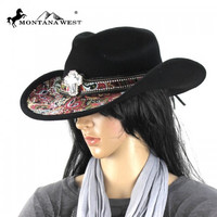 Montana West CHT-9031 Cowgirl Hat