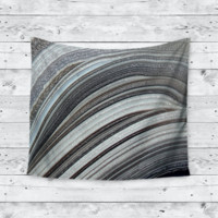 Geode Stripes Home Decor Trendy Boho Wall Tapestry