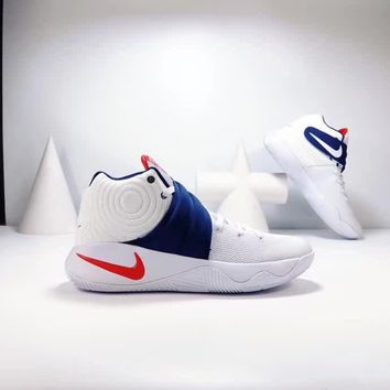"""""""Nike Kyrie 2"""" Men Casual Fashion Multicolor High Help Basketball Shoes Sneakers"""