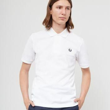 Fred Perry Made In England The Original Polo Shirt White