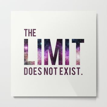 The Limit Does Not Exist - Mean Girls quote from Cady Heron Metal Print by AllieR