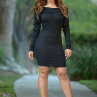 State of Grace Dress - Black
