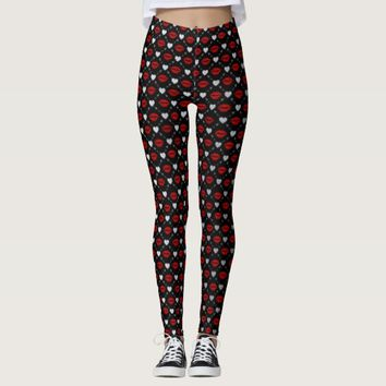 kiss leggings