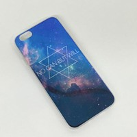 Hexagonal Galaxy Colorful Reflection Rubber Case for iPhone 5s 6 6s Case iPhone 6 6s Plus Gift-76-170928