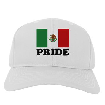Mexican Pride - Mexican Flag Adult Baseball Cap Hat by TooLoud