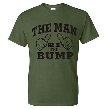 Man Behind The Bump Printed T-shirts
