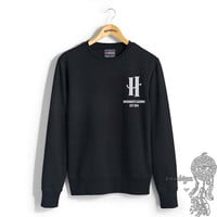 Hogwarts Alumni New Pocket print on Crew neck Sweatshirt