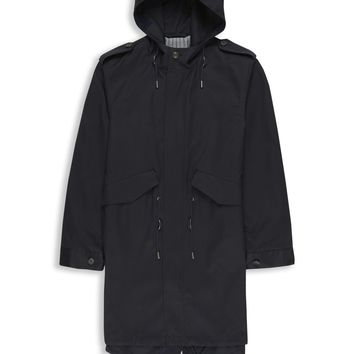 Duke Street Foundry Hooded Parka | Peacoat | Ben Sherman