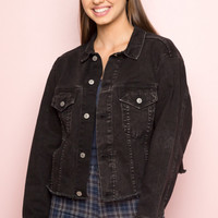 Betsy Denim Jacket - Outerwear - Clothing