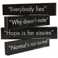 House-isms Magnet Set