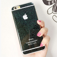 Twinkle Silicone Case for iPhone 5S 6 6S Plus Gift
