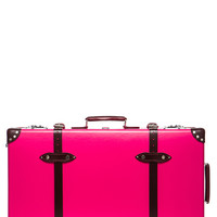 "30"" Limited Edition Candy Suitcase with Wheels in Hot Pink & Burgundy"