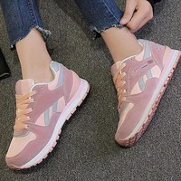DCK7YE REEBOK Women Men Casual Running Sport Shoes Sneakers Pink