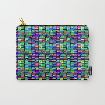 Rainbow 17 Carry-All Pouch by Zia
