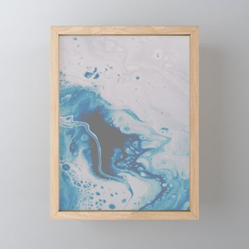 Atmospheric Framed Mini Art Print by duckyb
