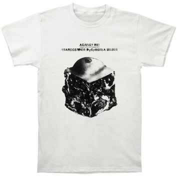 Against Me Men's  Transgender Slim Fit T-shirt Vintage Rockabilia