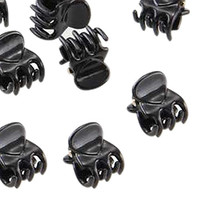 HOT SALE!10 Small Plastic Black Hair Clips Claws Clamps HOT