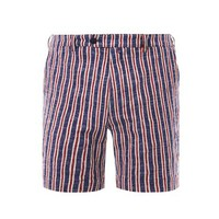 Boating striped shorts