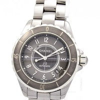 "New Ladies Chanel ""J-12"" Watch - H2979 - 38mm Complete"