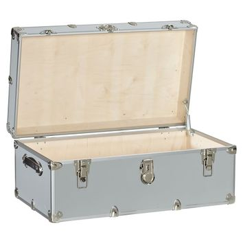 Dorm Trunks with Silver Trim