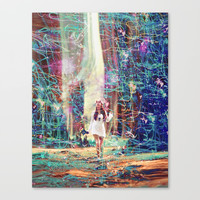 The Forest Canvas Print by J.Lauren