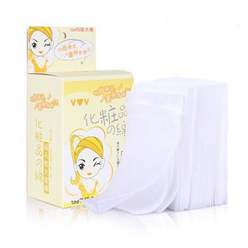 ZD 10 Box Organic Cotton Pads Nail Polish Remover Facial Cleaning Pad Demaquilante Cosmetic Korean Facial Makeup Tissue CO843