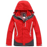 Waterproof detachable fleece two pieces